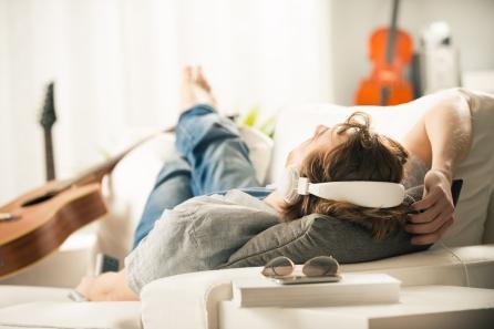 sleeping on sofa 5